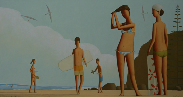 Afternoon Behind The Point 150 x 80cm