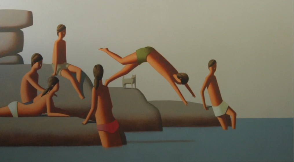Off the point 250x100cm