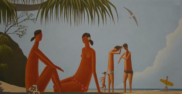 The South Beach 120 x 230cm
